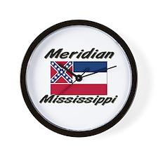 Meridian Mississippi Wall Clock
