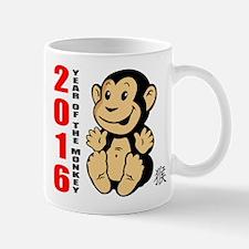 2016 Year of The Monkey Baby Mug