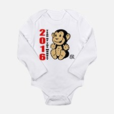 2016 Year of The Monk Long Sleeve Infant Bodysuit
