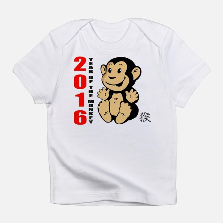 2016 Year of The Monkey Baby Infant T-Shirt
