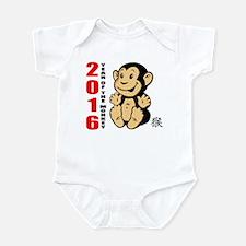 2016 Year of The Monkey Baby Infant Bodysuit