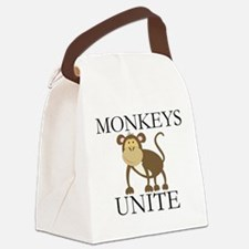 Funny Year of The Monkey Canvas Lunch Bag