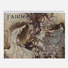 Fairies Wall Calendar