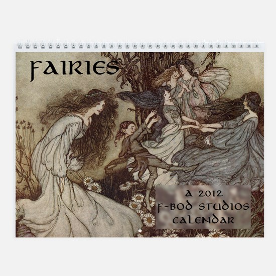 Fairies Wall Calendar