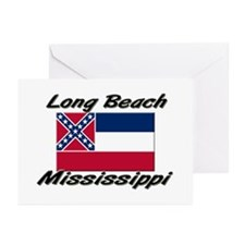 Long Beach Mississippi Greeting Cards (Pk of 10)