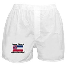 Long Beach Mississippi Boxer Shorts