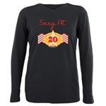 SEXYat20.png Plus Size Long Sleeve Tee