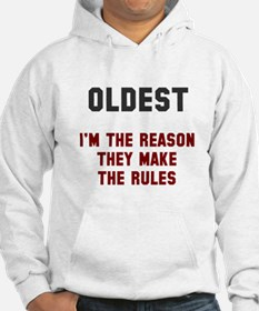Oldest Middle Youngest Rules Jumper Hoody