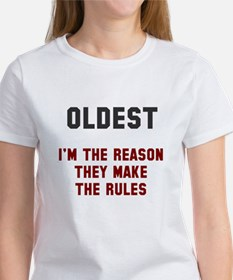 Oldest Middle Youngest Rules Tee