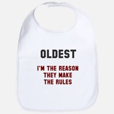 Oldest Middle Youngest Rules Bib