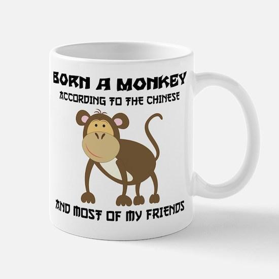 Funny Year of The Monkey Mug