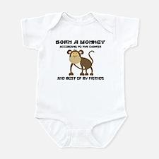 Funny Year of The Monkey Infant Bodysuit