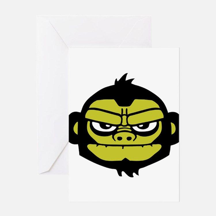gorilla Greeting Cards