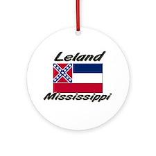 Leland Mississippi Ornament (Round)