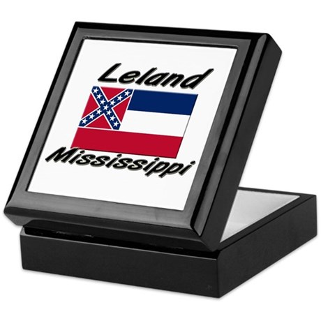 Leland Mississippi Keepsake Box