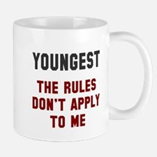 Oldest Middle Youngest Rules Mug
