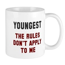Oldest Middle Youngest Rules Small Mug