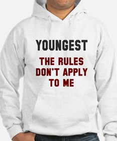 Oldest Middle Youngest Rules Hoodie