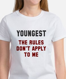Oldest Middle Youngest Rules Women's T-Shirt
