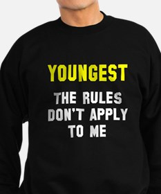 Oldest Middle Youngest Rules Sweatshirt