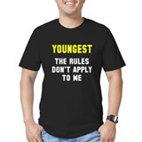 Youngest Fitted T-shirts (Dark)