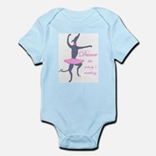 Cute Dance like no one is watching Infant Bodysuit