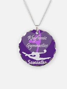 Purple Rhythmic Gymnastics Necklace