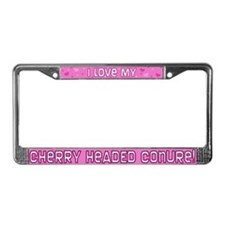 Pnk Plk Dot Cherry Head Conure License Plate Frame