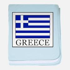 Greece baby blanket