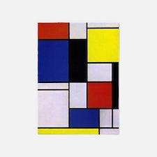 Mondrian-1 5'x7'area Rug