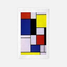 Mondrian-1 Area Rug
