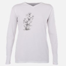 Bamboo Plus Size Long Sleeve Tee