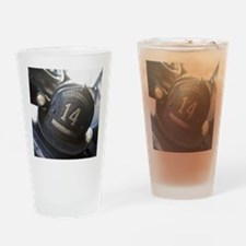 FIREMANS HELMET Drinking Glass