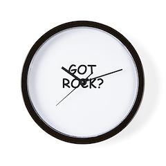 GOT ROCK? Wall Clock