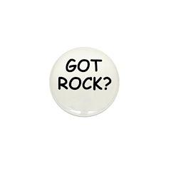 GOT ROCK? Mini Button (10 pack)