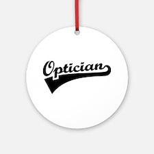 Optician Round Ornament