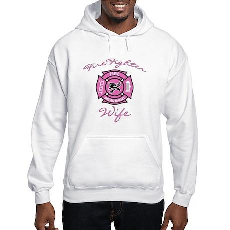 Firefighter Wife Hooded Sweatshirt