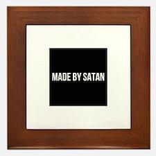 SATAN Framed Tile
