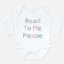 Cute Book of me Long Sleeve Infant Bodysuit