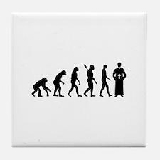 Evolution Priest Tile Coaster
