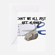 Can't We All Just Get Along? Greeting Cards