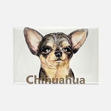 Chihuahua Black & Tan Rectangle Magnet
