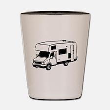 camping car motorhome Shot Glass
