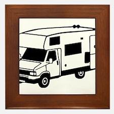 camping car motorhome Framed Tile