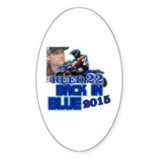 Reed Back in Blue Decal
