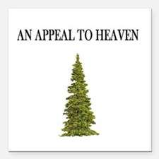 An Appeal To Heaven Flag Square Car Magnet 3""
