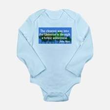 John Muir Nature Quote Wilderness Body Suit
