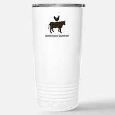 Cool Brown chicken Travel Mug