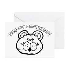 Color Your Own Birthday Bear Greeting Cards (Pk of