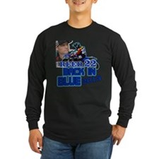 Reed Back in Blue Long Sleeve T-Shirt